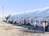 Rangeland Tent on Stampede Grounds