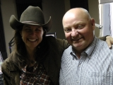 Jacquie and Charlie Brown of AM1140 radio