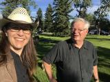 Jacquie Drew: with Dave Glowasky