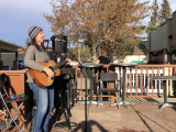 Jacquie Drew: Outdoor  gig - Redwood Meadows Emergency services fundraiser