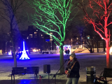 Jacquie Drew: Christmas outdoor pop-up performance - Oakville ON