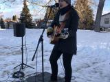 Jacquie Drew: Outdoor winter pop-up gig - Calgary