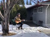 Jacquie Drew: Winter outdoor pop-up performance