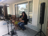 Jacquie Drew: Pop-up on porch