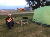 Jacquie Drew: Camping and playing