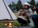 Jacquie Drew: Fireside singalong at SOAR event
