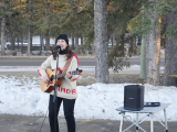 Jacquie Drew: Pop-up performance - Bragg Creek