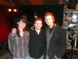 Jacquie, Kevin Ryan, and Ian Sherwood